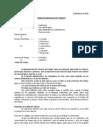 Derecho Laboral Chile
