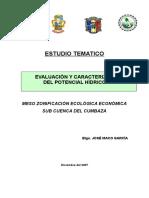 Hidrologia Rio Cumbaza