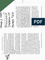 Schvarstein-Trabajo y Subjetividad