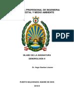 Silabo Dendrología Semestre 2019-I-converted - Copia