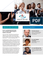 Health on Top Programm 2019