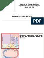 2. Mecánica ventilatoria