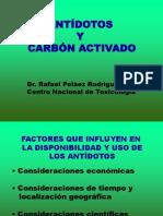 Antidotos y Carbon Activado