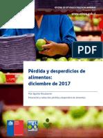 Estudio Chile. Pérdidas y Desperdicios de Alimentos