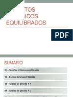 CIRCUITOS TRIFÁSICOS EQUILIBRADOS