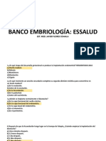 banco embrio
