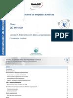 Unidad1 Elementos Del Diseno Organizacional Contenidonuclear 2017