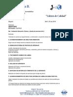 Cotizacion Remocion y Pintura Dc-3