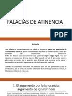 Falacias de Atinencia Diapositivas (1)