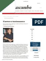 Jornal Rascunho Cavala