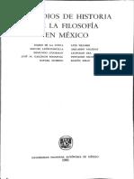 Leopoldo Zea. El Positivismo
