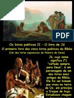 Estudo 1 - Os Livros Poéticos II - Jó
