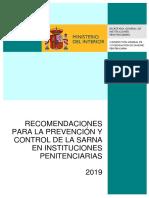9.- Recomendaciones Prevención Sarna