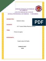 Fichas de Nutricion Clinica