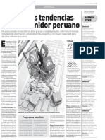 Noticia Las Tendencias Del Consumidor Peruano