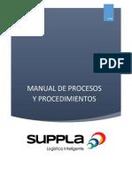 Actividad 7 Evidencia 5 Manual Procesos y Procedimientos Logísticos