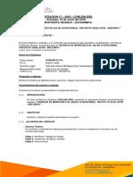 Cotización 17 Je Construcciones Generales Sa Salud Ocupacional