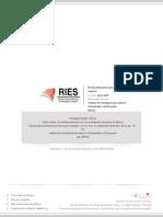 Paniagua-Roldán - 2012 - Pablo Latapí y La Profesionalización de La Investigación Educativa en México