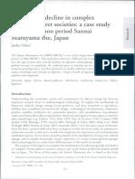 Habu (2009) Growth and Decline in Complex Hunter-Gatherer Societies.pdf