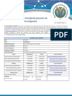 3 Formato Inscripción Proyectos Investigación Electiva