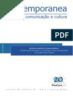 Programa de Pós-graduação em Comunicação e Cultura Contemporâneas da Universidade Federal da Bahia (UFBA) - Contemporanea _ Revista de Comunicação e Cultura (Cibercultura e Politica)-Salvador .pdf