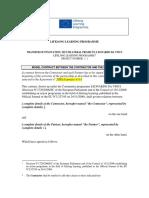 Leonardo TOI 2013 Model Contract Between Contrator and Partners