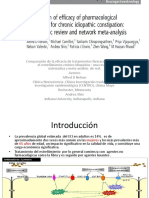 Comparación de la eficacia de tratamientos farmacológicos para el estreñimiento crónico idiopático