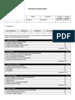 Evaluación de Desempeño Plantilla Modelo