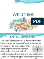 Types of Entrepreneurs
