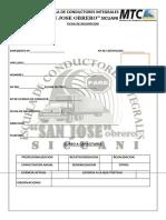 Ficha de Inscripcion 2