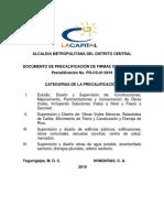 Documento Preca Consultoras 2019