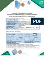 Guía de Ruta y Avance de Ruta Para La Realimentación - Fase 3. Paz Colombia