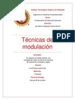 Tecnicas de Modulación