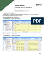 Instructivo Gestion de Costos Project