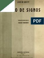 Libro de signos de León de Greiff
