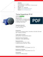 Toma Superficial IP 67 - S4506 (1)