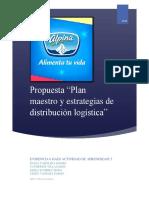 Actividad 5 Evidencia 6 Propuesta Plan Maestro y Estrategias de Distribucion Gaes
