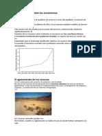 Acción Humana Sobre Los Ecosistemas
