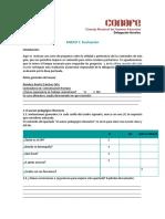 Instrucciones para la base de puntajes de la Evaluaci¢n Neuropsicol¢gica Infantil ENI