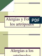 Alergias y Fobias a Los Artrópodos