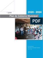 Plan de Gobierno Municipal 2020 - 2024 VP
