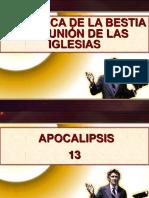 19 La Marca de La Bestia y La Unión. Las Dos Bestias