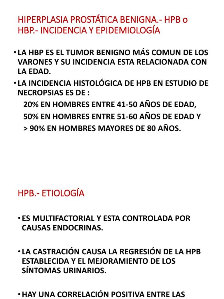 hiperplasia prostatica benigna y sexualidad