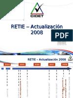 RETIE - Actualización 2008