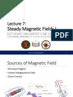 EEE23 Lecture 07 - Magnetostatics I.pdf