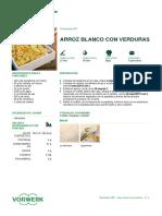 Arroz Blanco Con Verduras