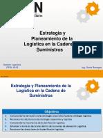 Estrategia y Planeamiento de La Logística en La Cadena de Suministros