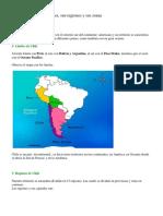 Chile y Sus Zonas