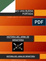 Presentación Arma de Infantería