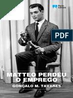 Matteo Perdeu o Emprego - Goncalo M. Tavares (1).pdf